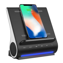 DockAll - FAST 10W Qi Wireless Charging Sound Hub D108