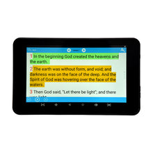 "Azpen My e-Bible,  7"" e-Reader Tablet"