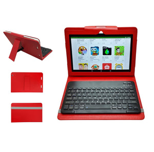 Azpen G1058B - 4G LTE 10.1 inch Tablet w/ Bluetooth Keyboard & Case- Great For Remote Learning