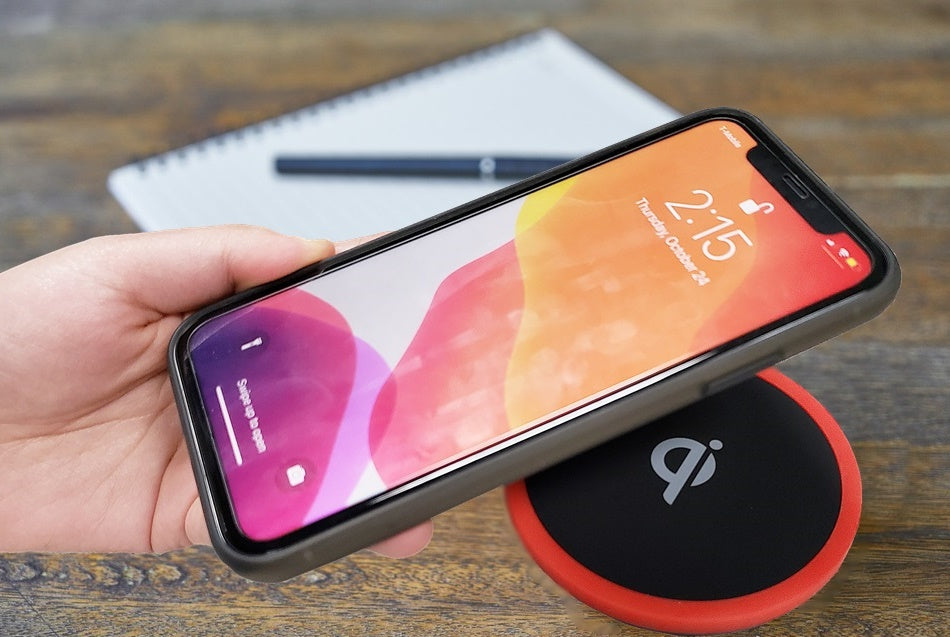 C100  FAST 10W Qi Wireless Charging Pad