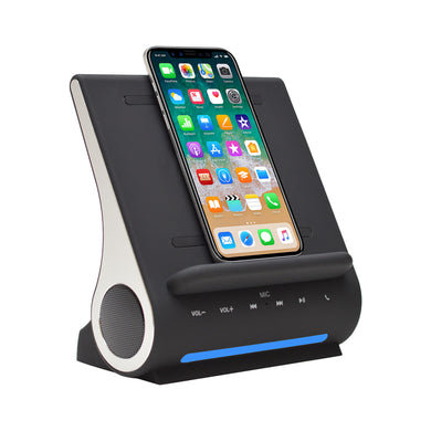Azpen DockAll D100 Qi Wireless Charging Sound Hub
