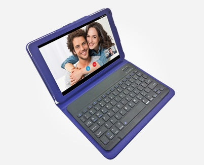 Azpen G1058B - 4G LTE 10.1 inch Tablet w/ Bluetooth Keyboard & Case