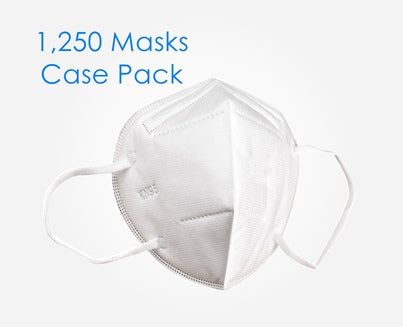 Face Mask Respirator - 1,250 Units (Master Carton)