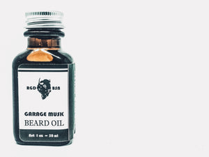 Beard Oil • Garage Musk