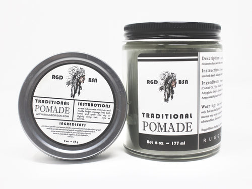 Traditional Pomade Combo