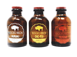 Beard Oil • 3 Pack Assorted