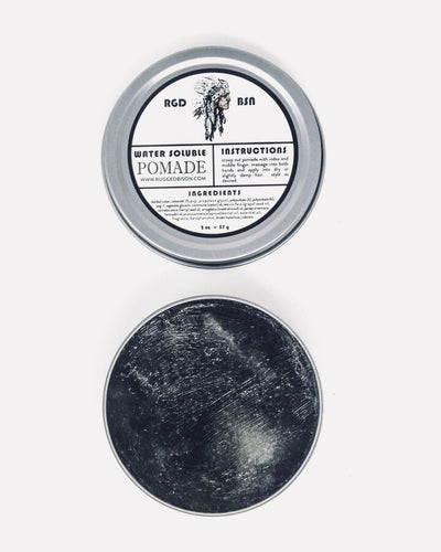 Travel Tin • Water Soluble Pomade