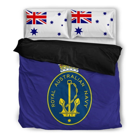 Image of Royal Australian Navy Ensign Duvet Cover + 2 Pillow Cases - Military Gifts Direct
