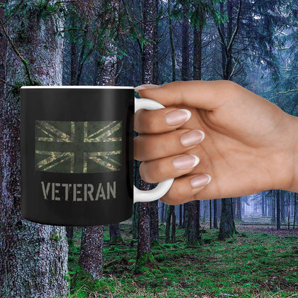 British Veteran's Mug (Green Flag)