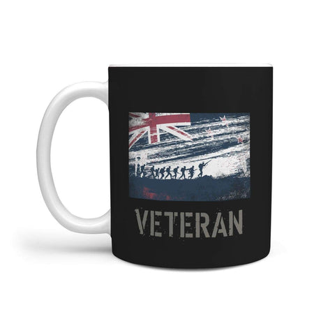 360 White Mug New Zealand Veteran's Mug