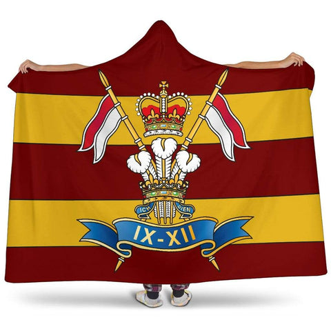 Image of 9th/12th Royal Lancers Premium Hooded Blanket