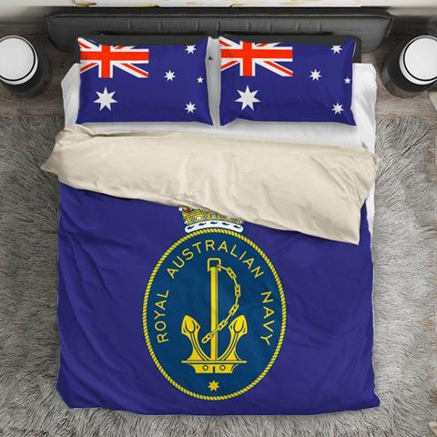 Image of Royal Australian Navy Duvet Cover + 2 Pillow Cases - Military Gifts Direct