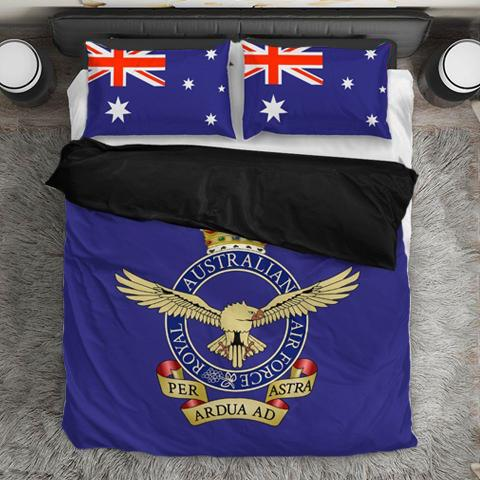 Image of Royal Australian Air Force Duvet Cover + 2 Pillow Cases - Military Gifts Direct