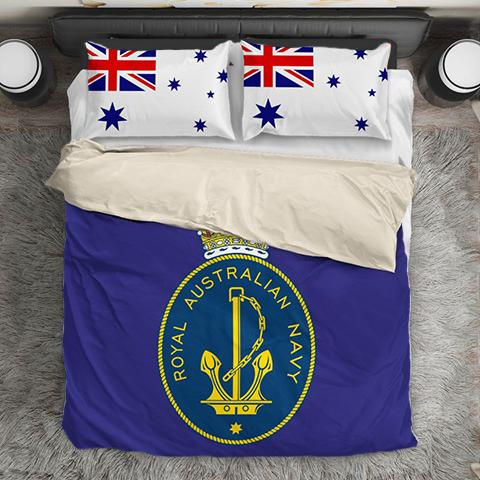Royal Australian Navy Ensign Duvet Cover + 2 Pillow Cases - Military Gifts Direct