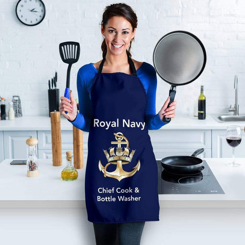 Image of apron Royal Navy Lady's Apron