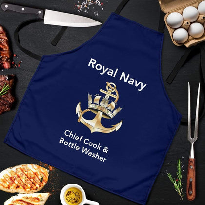 Royal Navy Men's Apron