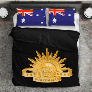 Australian Army Duvet Cover + 2 Pillow Cases