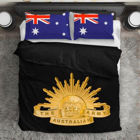Australian Army Duvet Cover + 2 Pillow Cases - Military Gifts Direct