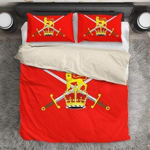 bedding British Army Duvet Cover + 2 Pillow Cases