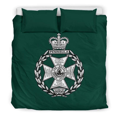 Image of bedding Royal Green Jackets (RGJ) Duvet Cover Bedset