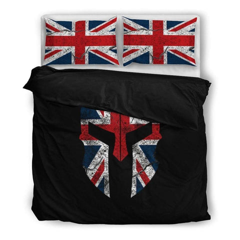 Image of bedding UK Spartan Duvet Cover + 2 Pillow Cases