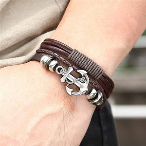 Navy Fouled Anchor Bracelet