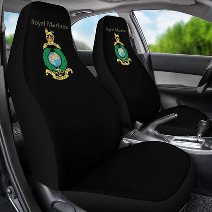 Royal Marine Car Seat Cover - Black