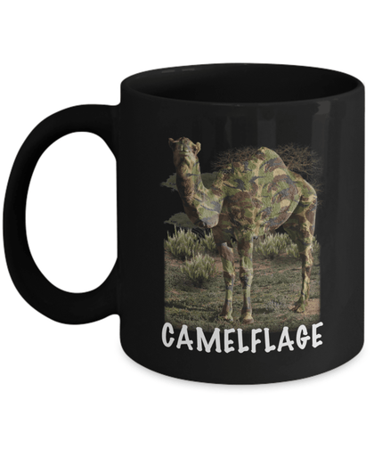 Camelflage Coffee Mug
