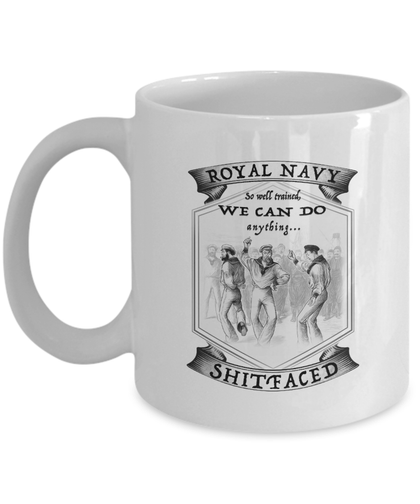 Royal Navy 'So Well Trained' Mug