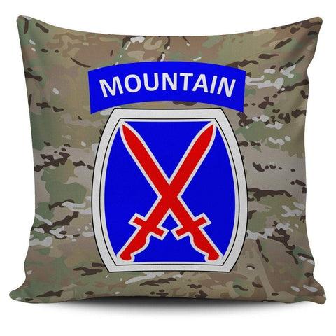 cushion cover 10th Mountain Division Pillow Cover