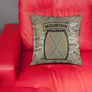 10th Mountain Division Pillow Cover