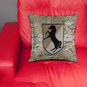 11th Armored Cavalry Regiment Pillow Cover