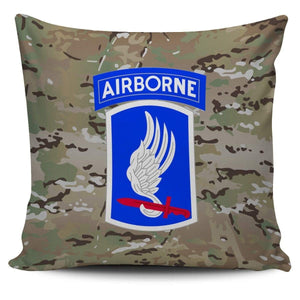 173rd Airborne Brigade Combat Team Pillow Cover