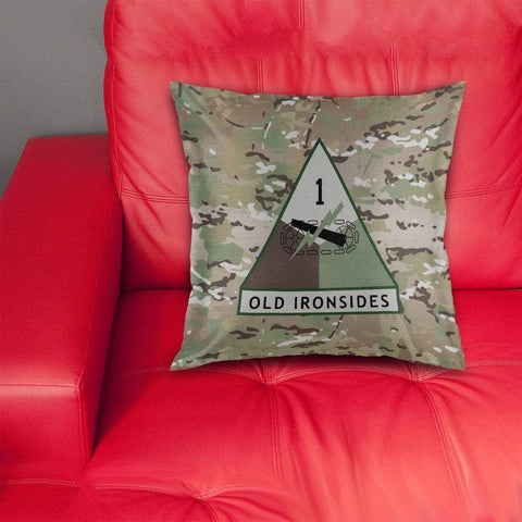 cushion cover 1st Armored Division Pillow Cover