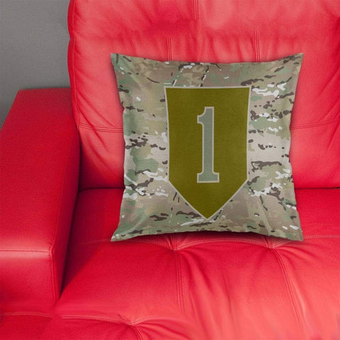 cushion cover 1st Infantry Division Pillow Cover