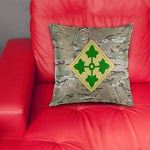 cushion cover 4th Infantry Division Pillow Cover