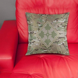4th Infantry Division Pillow Cover
