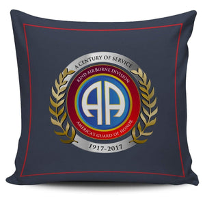82nd Airborne Pillow Cover Centennial