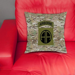 cushion cover 82nd Pillow Cover (Camouflage)