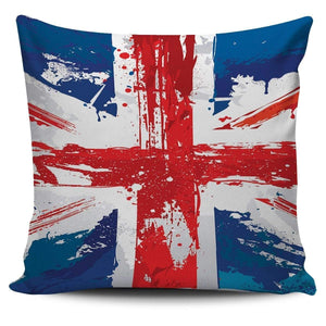 Painted Union Jack Cushion Cover
