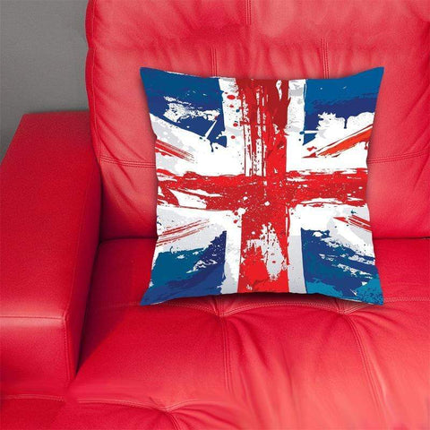 cushion cover Painted Union Jack Cushion Cover