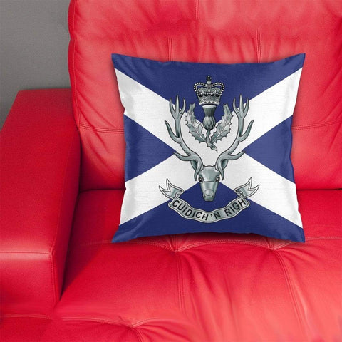 Image of cushion cover Queen's Own Highlanders Cushion Cover