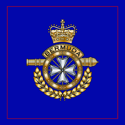 Image of cushion cover Royal Bermuda Regiment Cushion Cover
