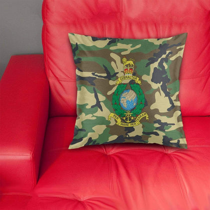 Royal Marine Camouflage Cushion Cover