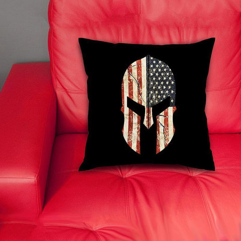 Image of cushion cover Spartan USA Pillow Cover
