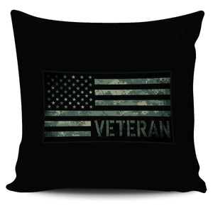 US Veteran Digicam Pillow Cover