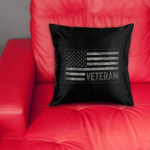 Image of cushion cover US Veteran Digicam Pillow Cover