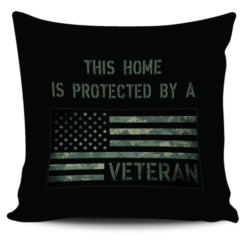 Image of cushion cover US Veteran Home Pillow Cover