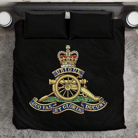 Image of duvet Royal Artillery Duvet Cover Set
