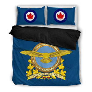 Royal Canadian Air Force Duvet Cover + 2 Pillow Cases
